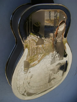 Dobro FiddleEdge Back